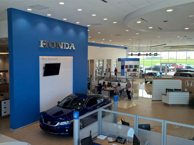 Roy Schmidt Honda | AKRA Builders Project